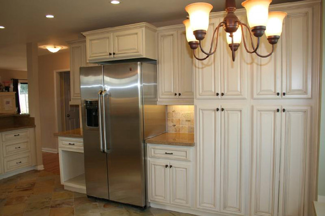 Lily Ann Cabinets Spaces Modern with Antique White Cabinets And