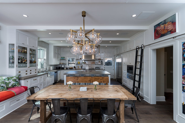 Liquor Cabinets Kitchen Contemporary with Adrian Koffka Bubble Chandelier