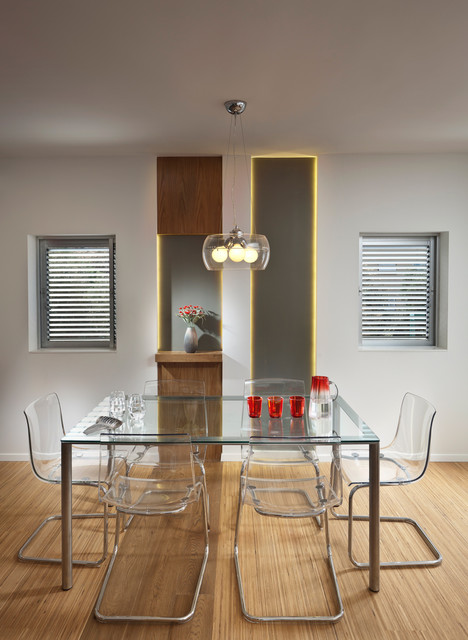 Lucite Chairs Dining Room Modern with Glass Dining Table Modern4