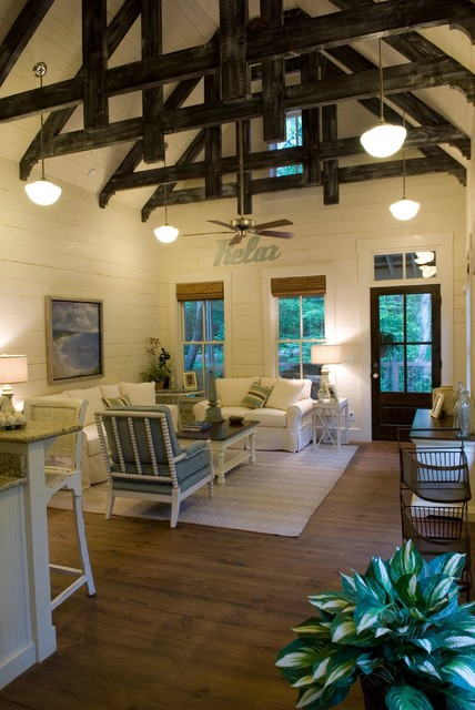 massoud furniture family room rustic with beams cathedral ceiling ceiling
