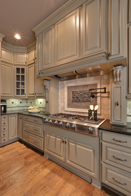 Medallion Cabinets Kitchen Traditional with Ceiling Lighting Kitchen Hardware