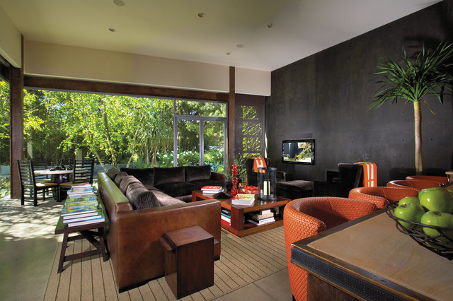 microfiber sectional sofa Patio Contemporary with accent wall Apple black