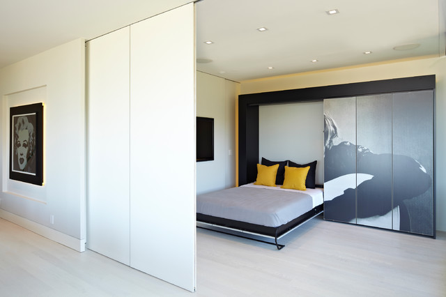 Murphy Bed Ikea Bedroom Contemporary with Asian Bath Bedroom Cabinetry