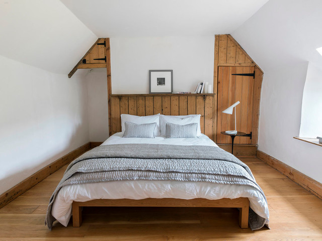 Narrow Bedside Table Bedroom Modern with Attic Bed Frame Built1
