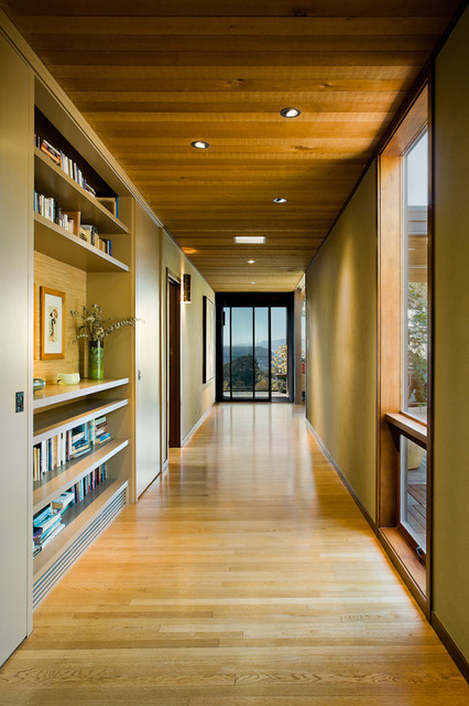 Narrow Bookcase Hall Modern with Birch Bookcase Bookshelves Built In