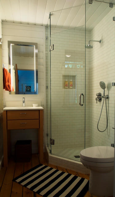 Neo Angle Shower Bathroom Eclectic with Ann Sacks Bainbridge Island