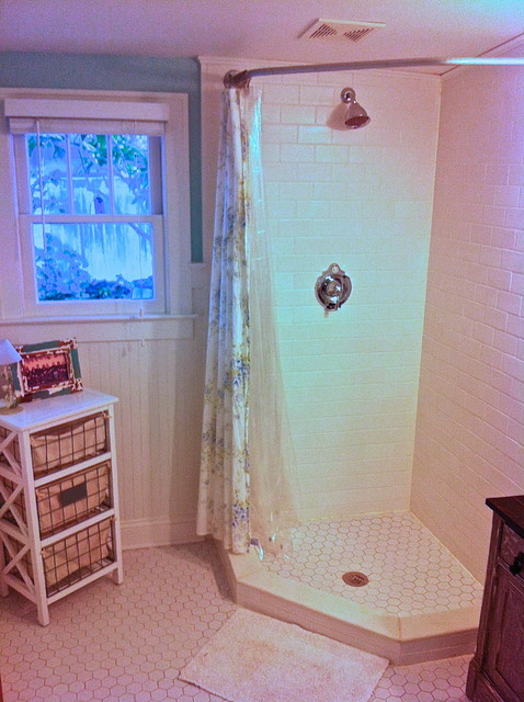 Neo Angle Shower Bathroom Traditional with Bathroom Remodel Shower Stall