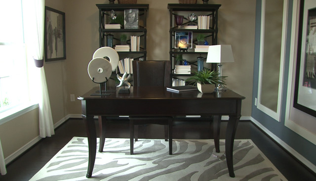 newmark homes Home Office Traditional with contemporary custom fixtures floorplan