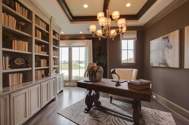 Newmark Homes Home Office Traditional with Contemporary Custom Fixtures Floorplan2
