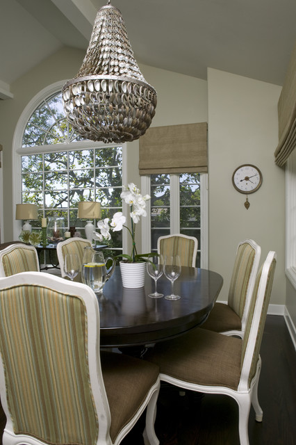 oly studio Dining Room Traditional with coaster dark wood floors