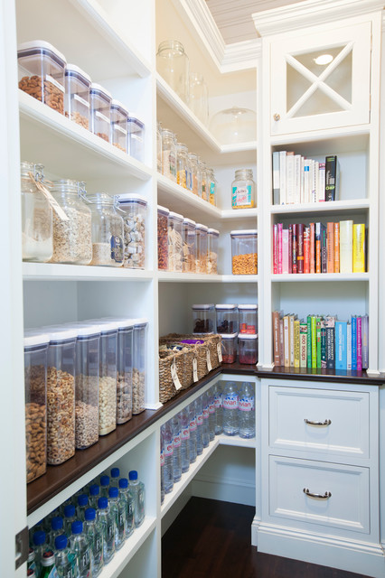Pantry Cabinet Ikea Kitchen Traditional with Cereal Cookbook Shelves Drawers