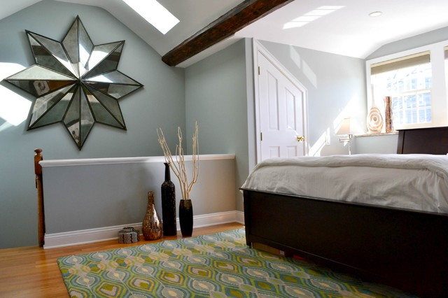 Peacock Rug Bedroom Eclectic with Antiqued Mirror Area Rug