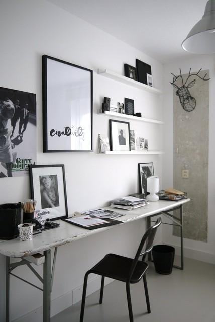 Picture Ledges Home Office Industrial with Black and White Black