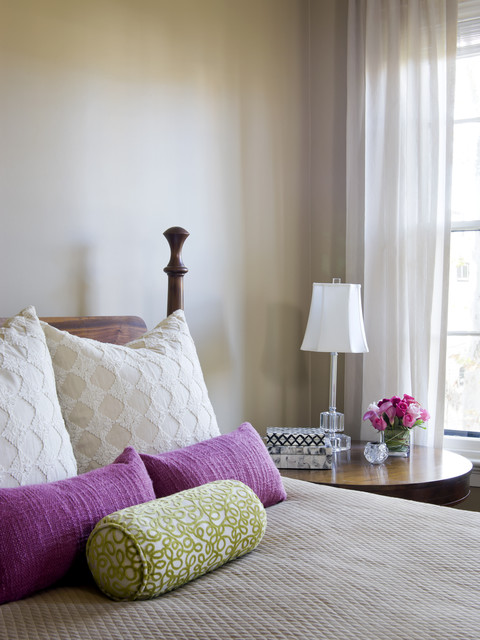 pillow inserts Bedroom Eclectic with accent colors bed pillows