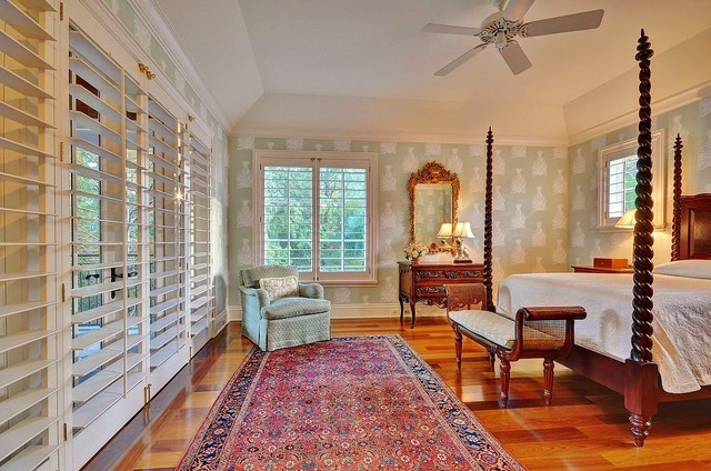 Plantation Shutters Cost Bedroom Tropical with Bedroom Bench Ceiling Fan
