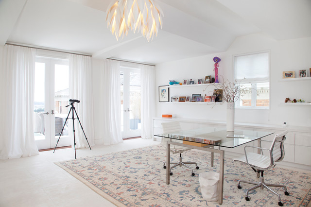 Possini Euro Design Home Office Contemporary with Art Collection Charlot Malin