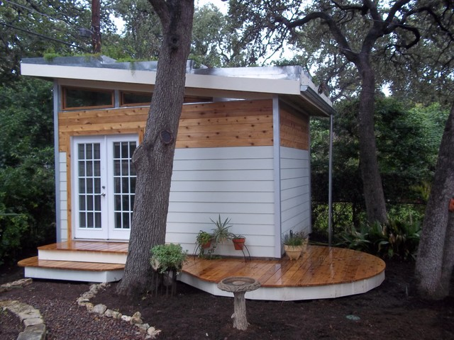 Prefab Sheds Garage and Shed Contemporary with Backyard Shed Cedar Siding