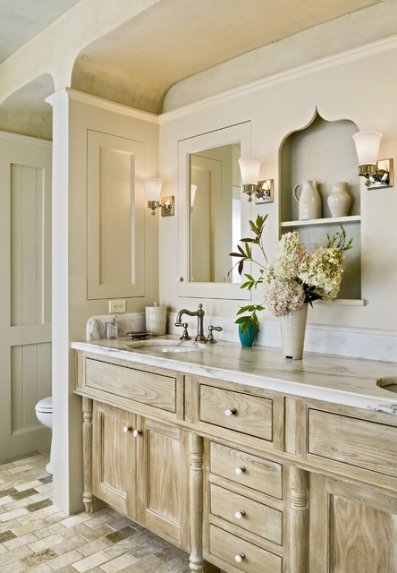 Recessed Medicine Cabinets Bathroom Traditional with Built Ins Distressed Finish Cabinets