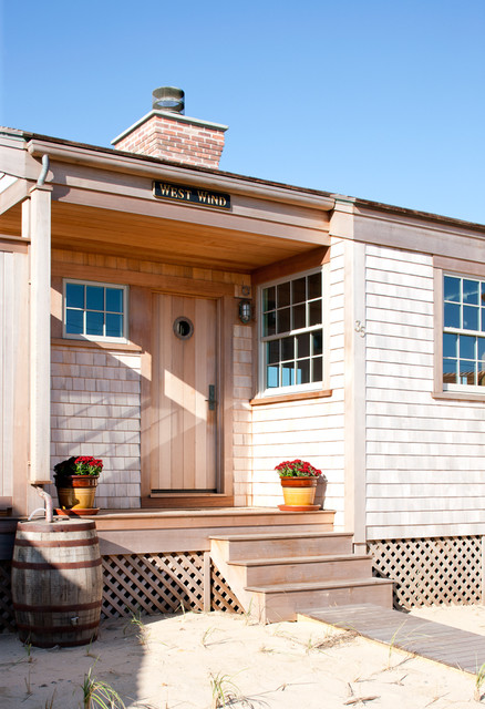 Repurposed Materials Exterior Beach with Boardwalk Cape Cod Style