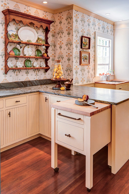 Rolling Cart with Drawers Kitchen Traditional with Beige Cabinets Beige Drawers