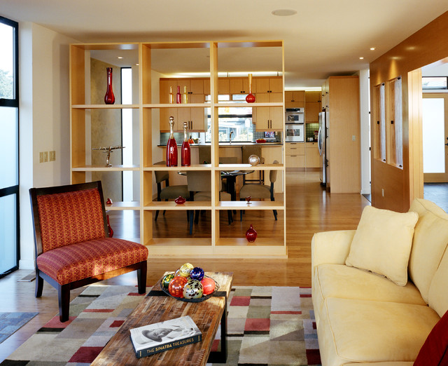 room separators Living Room Contemporary with bookshelf divider bookshelf partition