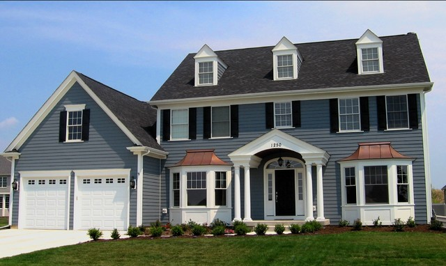 Rosati Windows Exterior Traditional with Arched Window Bay Window