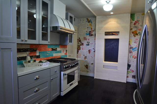 Rta Cabinets Kitchen Eclectic with Custom Appliances House Crashers