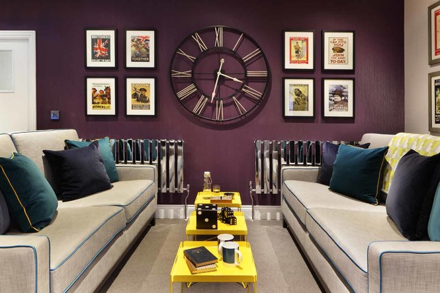 Runtal Radiators Living Room Contemporary with Bright Charity Charity Project