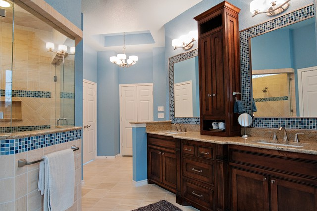 Sandlin Homes Bathroom Contemporary with Dallas Bathroom Remodel Home1