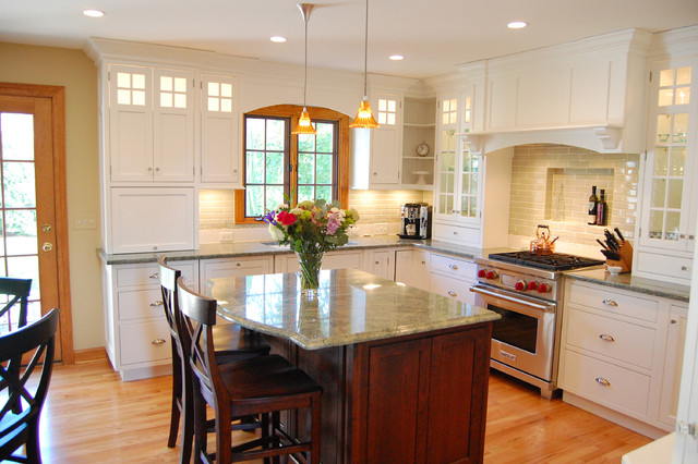 Savoy Lighting Kitchen Traditional with Breakfast Bar Corner Cabinets