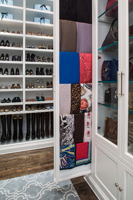 Scarf Hangers Closet Traditional with Accessory Closet Boot Storage