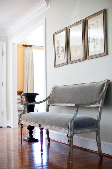 Settee Bench Entry Traditional with Categoryentrystyletraditionallocationbaltimore