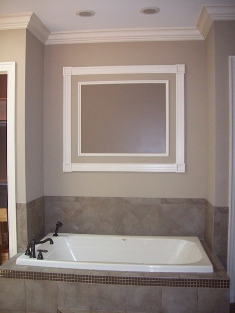 Shadowbox Frames Bathroom Modern with Bath Window Frame Bathroom