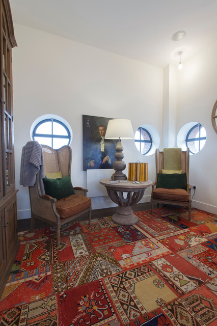 Shag Area Rugs Home Office Eclectic with Armoire Hutch Leather Seat