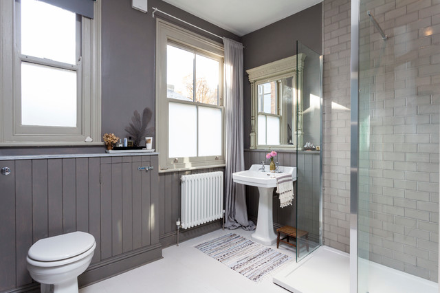 Sheer Window Panels Bathroom Scandinavian with Framed Mirror Gray Curtains