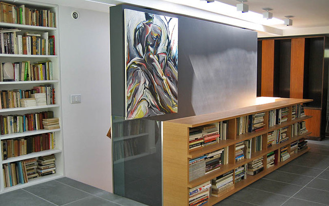 Short Bookcase Living Room Modern with Art Cabinet Cupboard Library