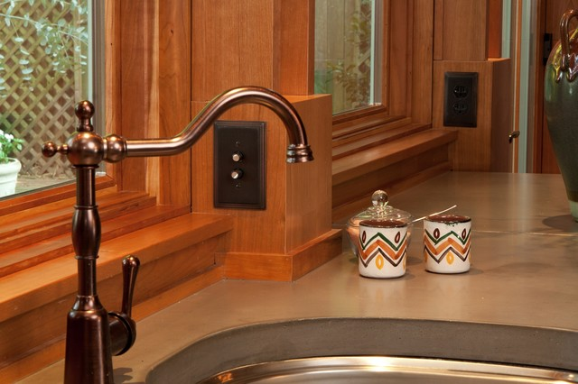 Single Handle Kitchen Faucet Kitchen Craftsman with Built in Appliances Cherry