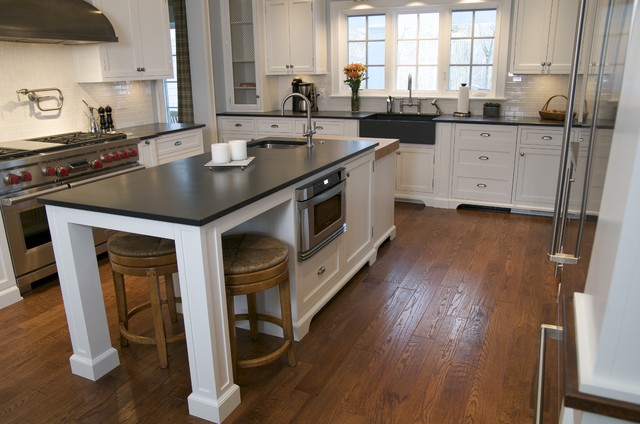 Slate Countertops Kitchen Traditional with Categorykitchenstyletraditionallocationchicago