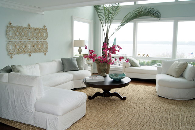 Slipcovered Sectional Living Room Beach with Categoryliving Roomstylebeach Stylelocationother Metro
