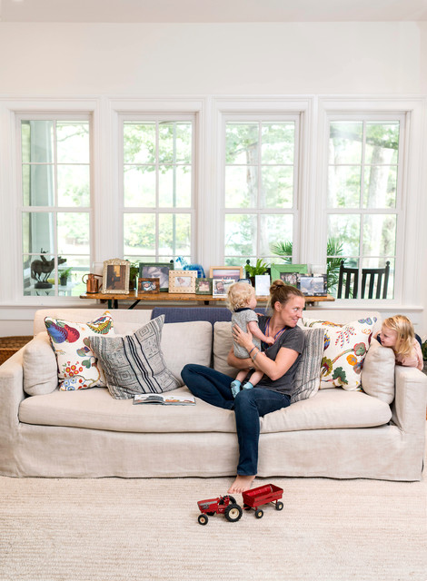 Slipcovers for Couch Family Room Farmhouse with Farmhouse Farmhouse Kitchen Farmhouse