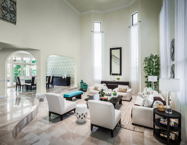 Slipper Chairs Living Room Contemporary with Archway Black Coffee Table