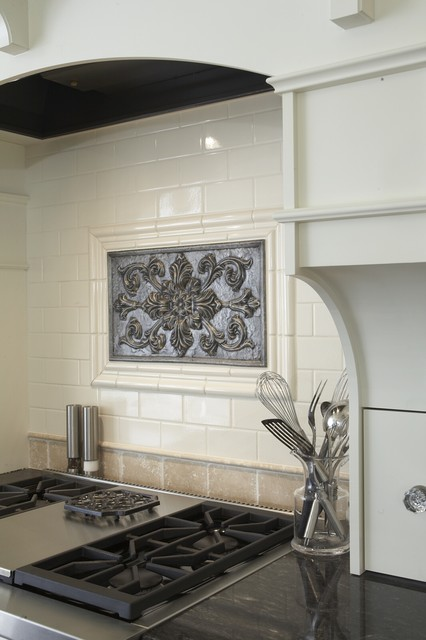 Sonoma Tile Kitchen Traditional with Kitchen Accessories Neutral Colors