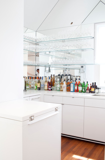 Soss Hinges Home Bar Contemporary with Beach Cottage Cathedral Ceiling