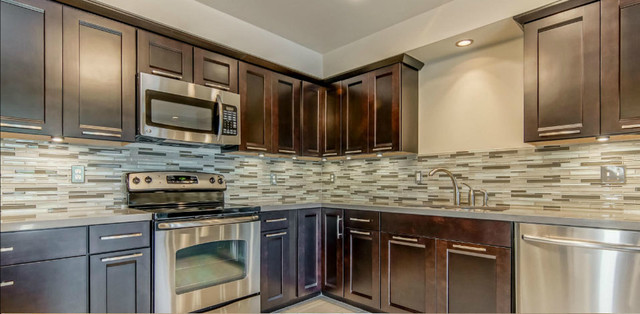 Stainless Steel Cabinet Pulls Kitchen Contemporary with Backsplash Built in Cabinets Cabinet