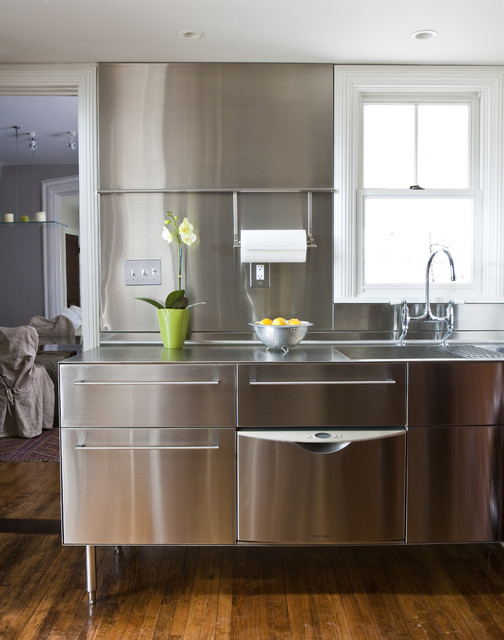 Stainless Steel Utility Sink Kitchen Transitional with Kitchen Faucet Kitchen Sink