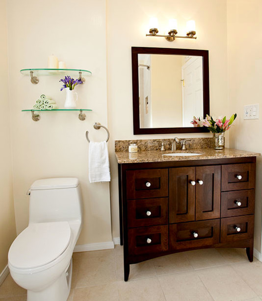 Strasser Woodenworks Bathroom Traditional with Bathroom Bathroom Lighting Bathroom