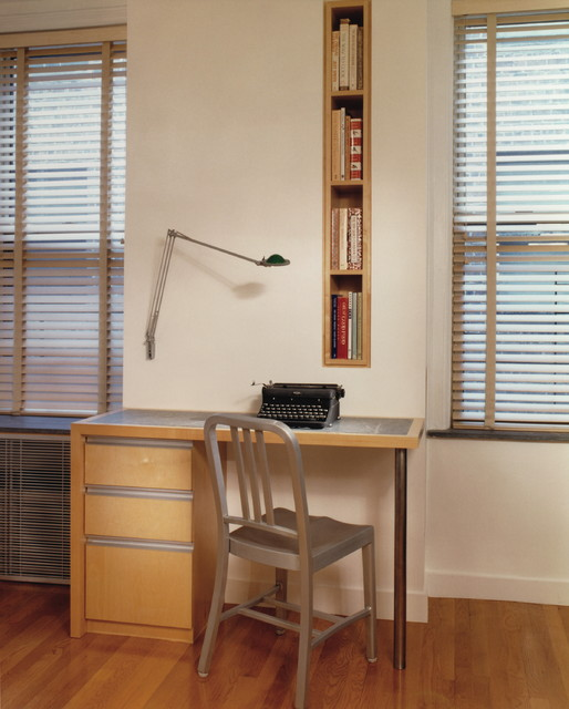 Tall Narrow Dresser Home Office Modern with Blinds Built in Bookshelf Desk