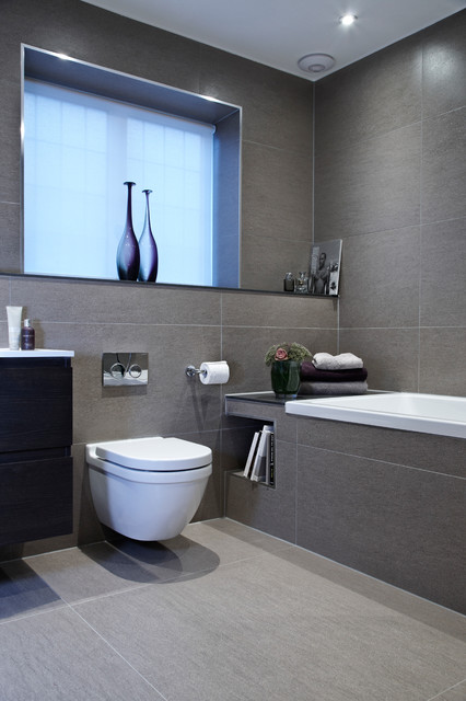Tankless Toilet Bathroom Contemporary with Bathroom Bathroom Window Book