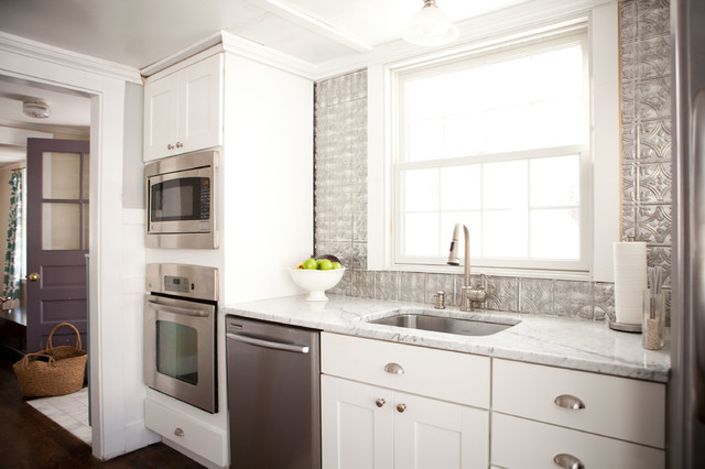 thomasville cabinets Kitchen Traditional with cup pulls dark wood
