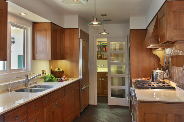 Tm Cobb Kitchen Contemporary with Ceiling Lights Copper Vent